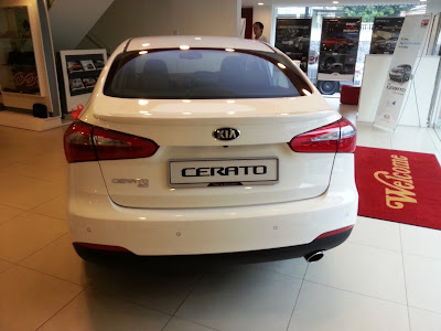 Asian Auto Digest Kia Cerato Launched Malaysia Exterior