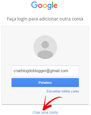 Criar Conta Grátis no Google