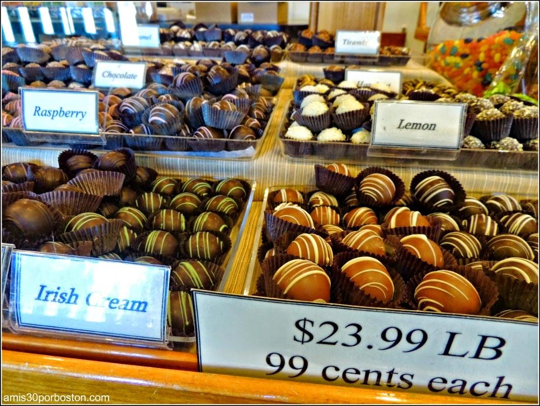 Bombones del Richardson´s Candy Kitchen