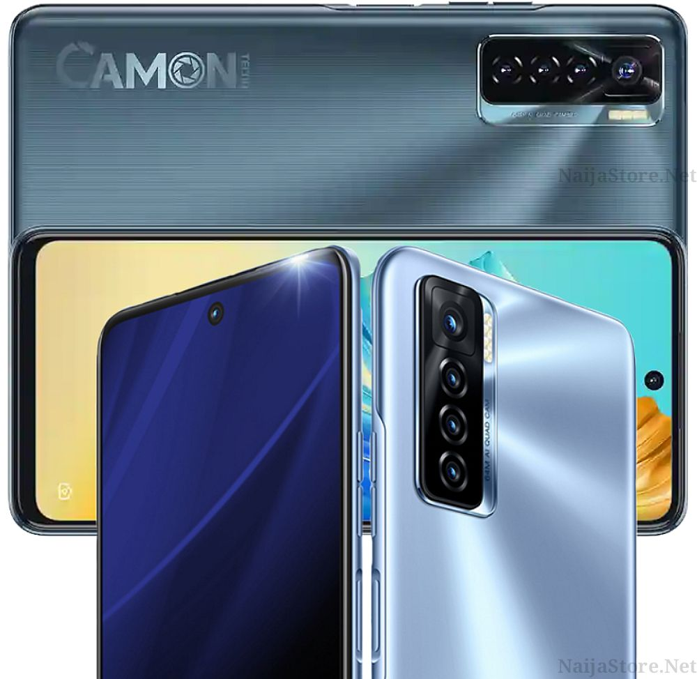 Tecno Camon 17 Pro Phablet - Specs: 64MP AI Quad Cam, Android 11, 6.8Inch Screen, 256GB/8GB Memory, 5000mAh Battery.. - Helio G95 Smartphone