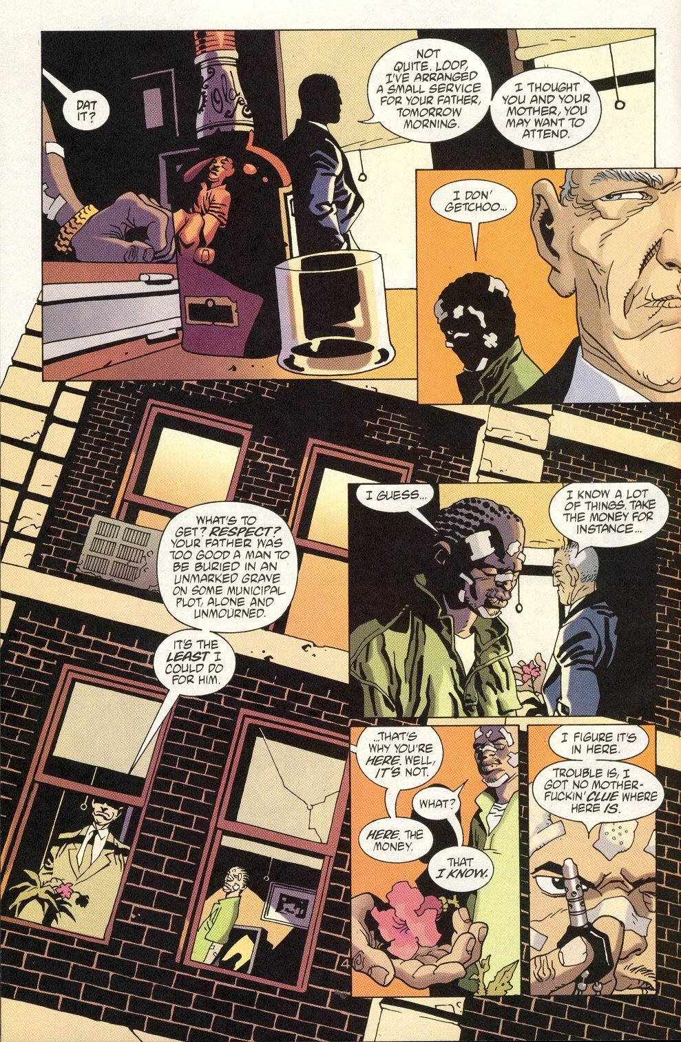 Read online 100 Bullets comic -  Issue #19 - 6