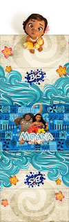 Moana Baby Free Printable Gum or Nuggets Wrappers