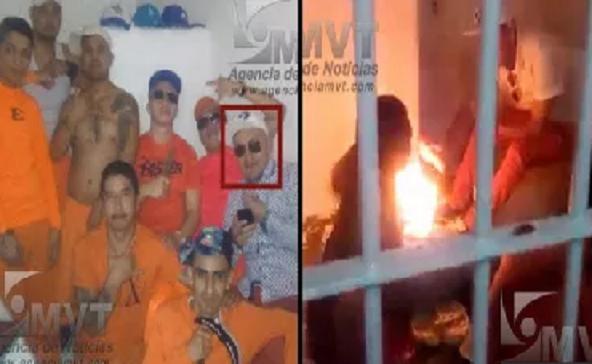 """Reos arman motín para ejecutar a """"El Tatos"""" ante traslado de 9 presos se quedo sin solo sin seguridad"""