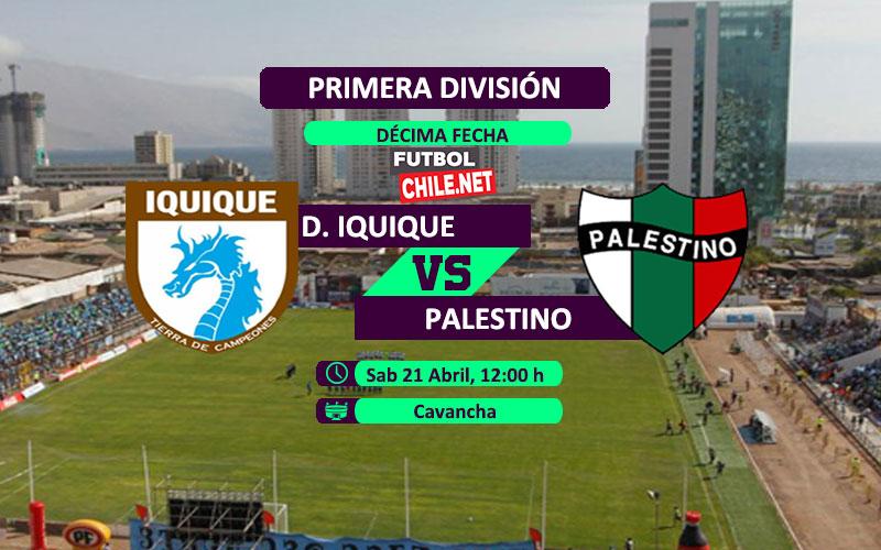Deportes Iquique vs Palestino: Previa, horario, dónde ver en vivo por TV y online por la Primera División