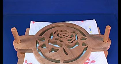 Scrollsaw Workshop Picnic Napkin Holder Scroll Saw Pattern Let S Practice Cutting Curves