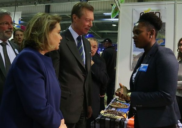 Grand Duke Henri and Grand Duchess Maria Teresa of Luxembourg attended the opening ceremony of the 34th Migration Culture and Citizenship Festival
