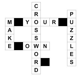 crossword puzzle generator
