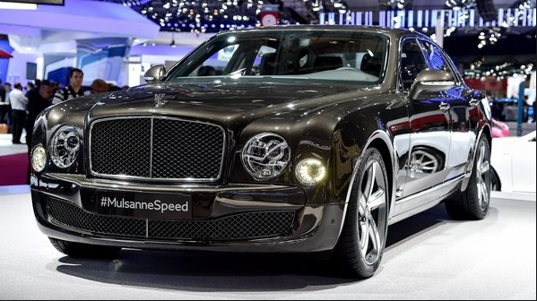 2017 Bentley Mulsanne Changes