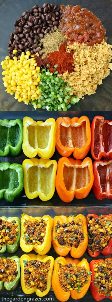 Best Mexican Quinoa Stuffed Peppers