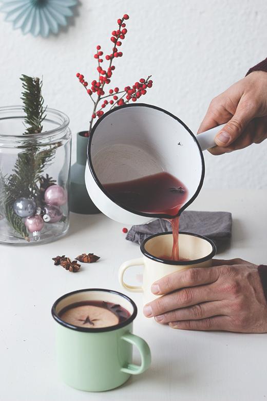 Rezept für einen alkoholfreien Weihnachtspunsch á la Pettersson und Findus. Holunderweg18