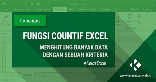 Fungsi Rumus COUNTIF Excel