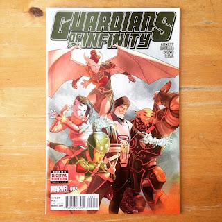 """En """"Guardians of Infintiy"""" Ortego participa en varias páginas"""
