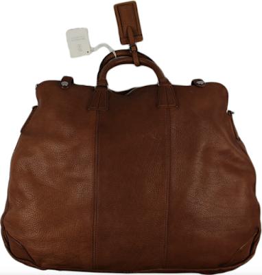 Brunello Cucinelli Buffalo Leather Travel Bag