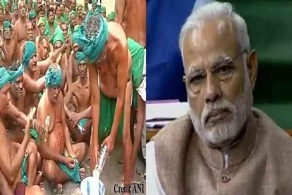 big-power-conspiracy-against-pm-modi-tamilnadu-farmer-drink-urine
