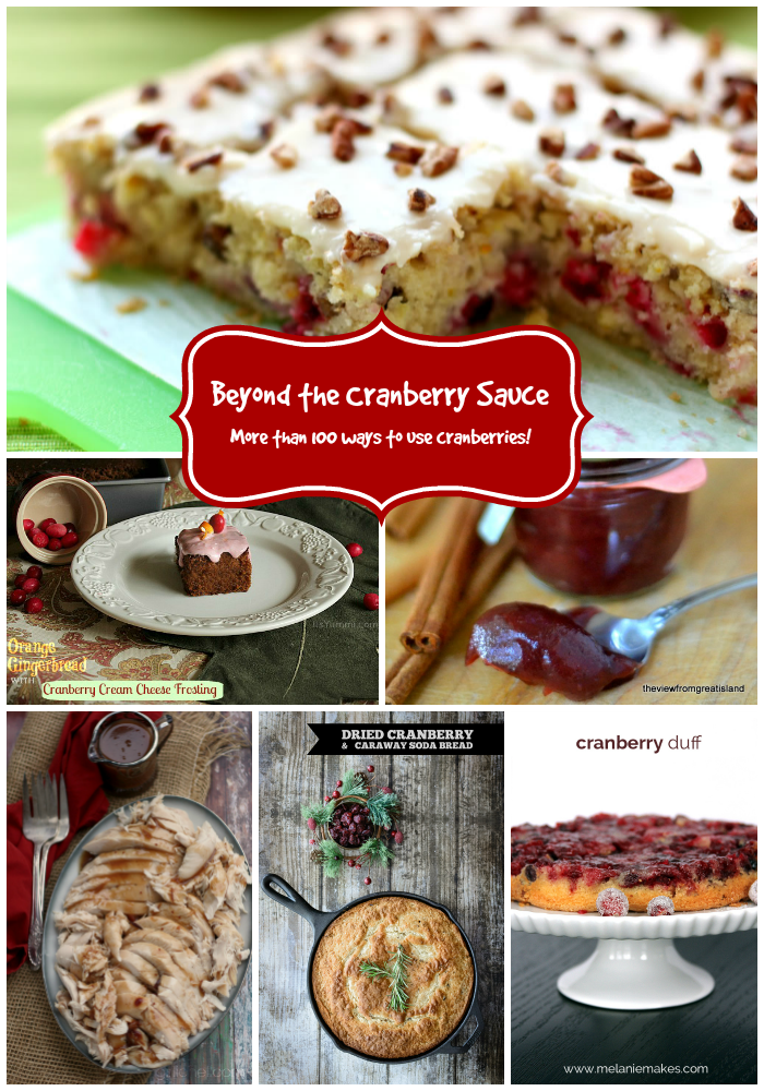Beyond the Cranberry Sauce: Over 100 Cranberry Recipe Ideas!