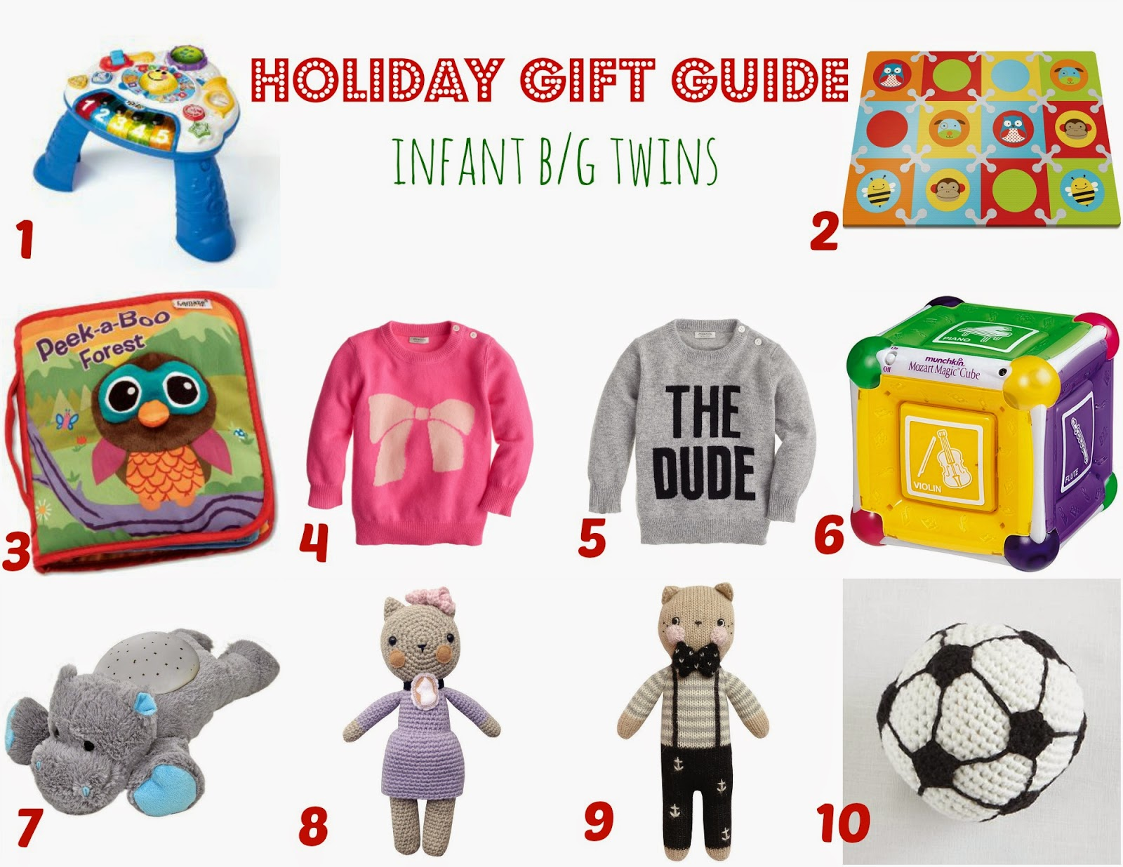 Twin Talk Blog: Holiday Gift Guide: Infant Twins