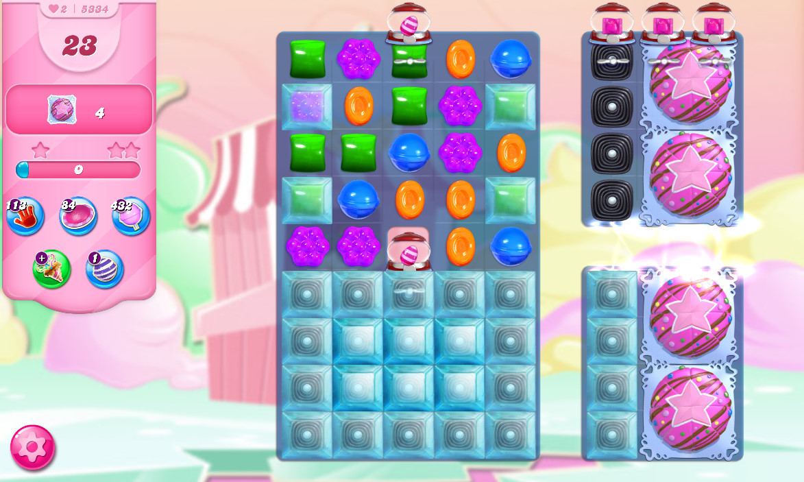 Candy Crush Saga level 5334