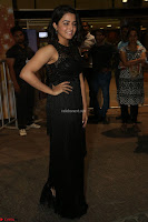 Wamiqa Gabbi in a sleeveless Black Designer Transparent Gown at 64th Jio Filmfare Awards South ~  Exclusive 150.JPG