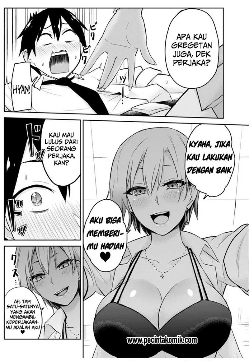 Baca Manga Hajimete No Gal Chapter 17 Bahasa Indonesia