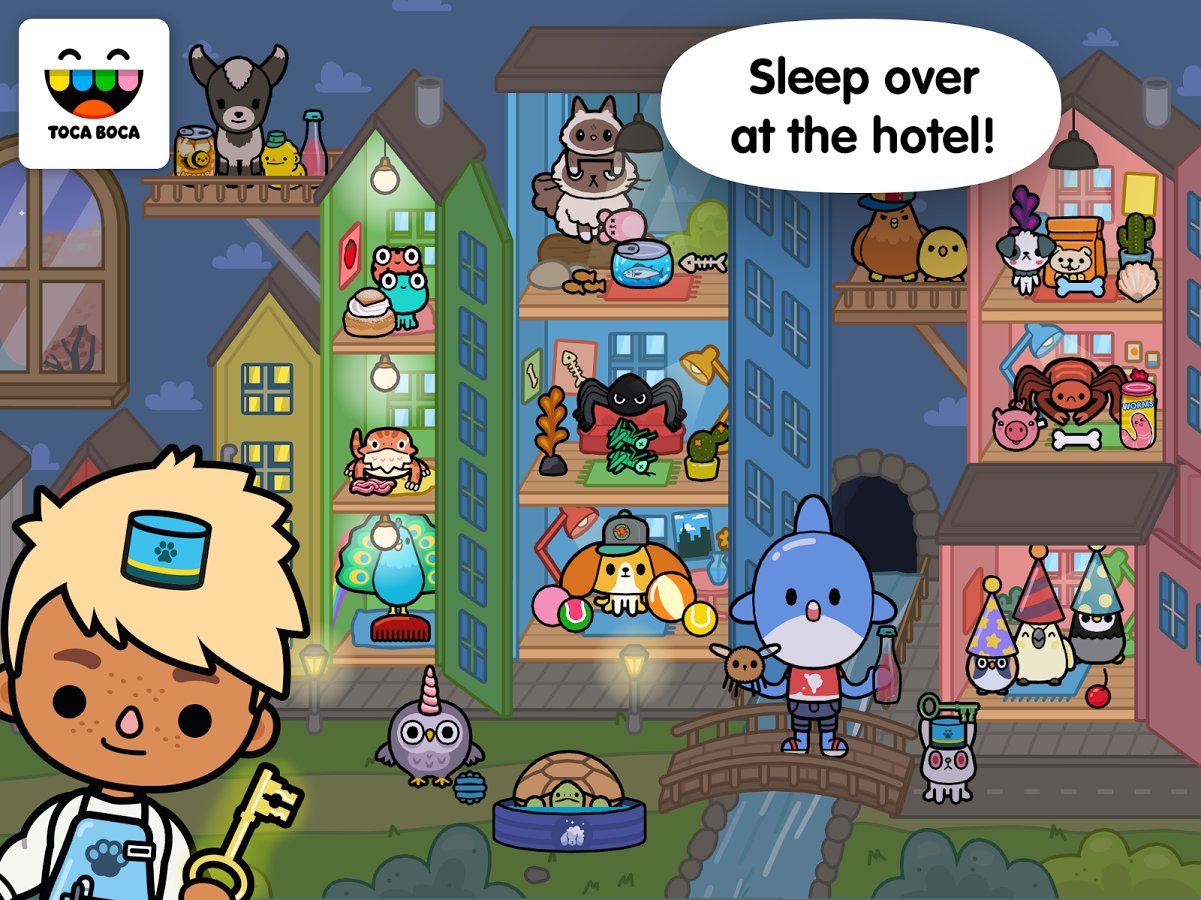 toca life pets apk obb mod download