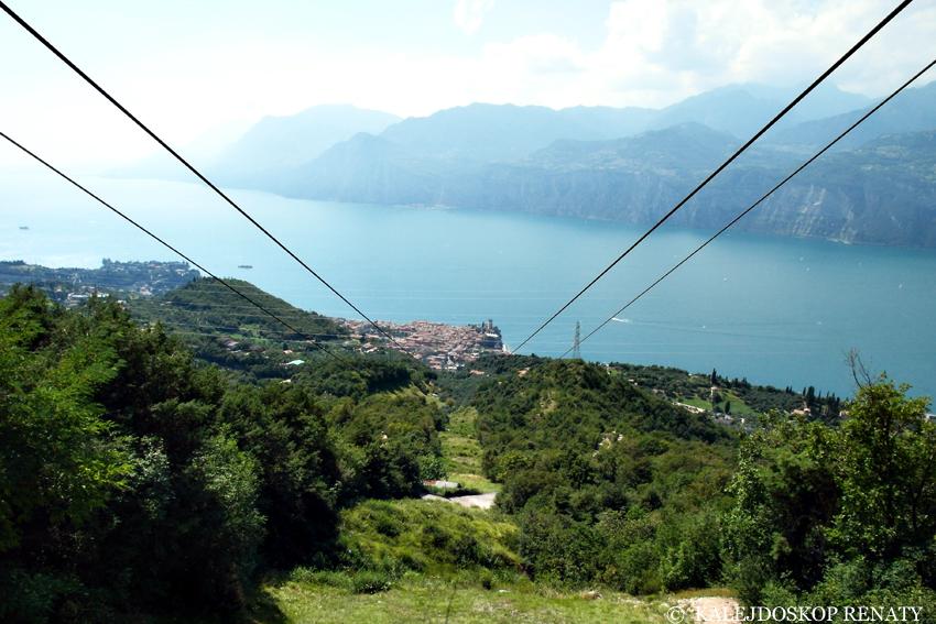 widok z Monte Baldo
