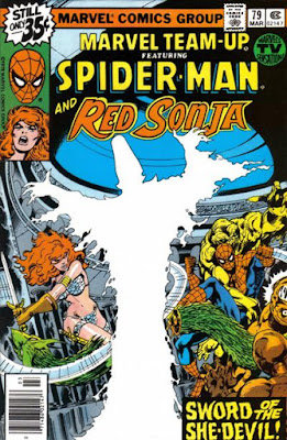 Marvel Team-Up #79, Spider-Man and Red Sonja