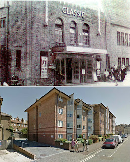 Clark & Lambert - Trinity Place Garag before and after