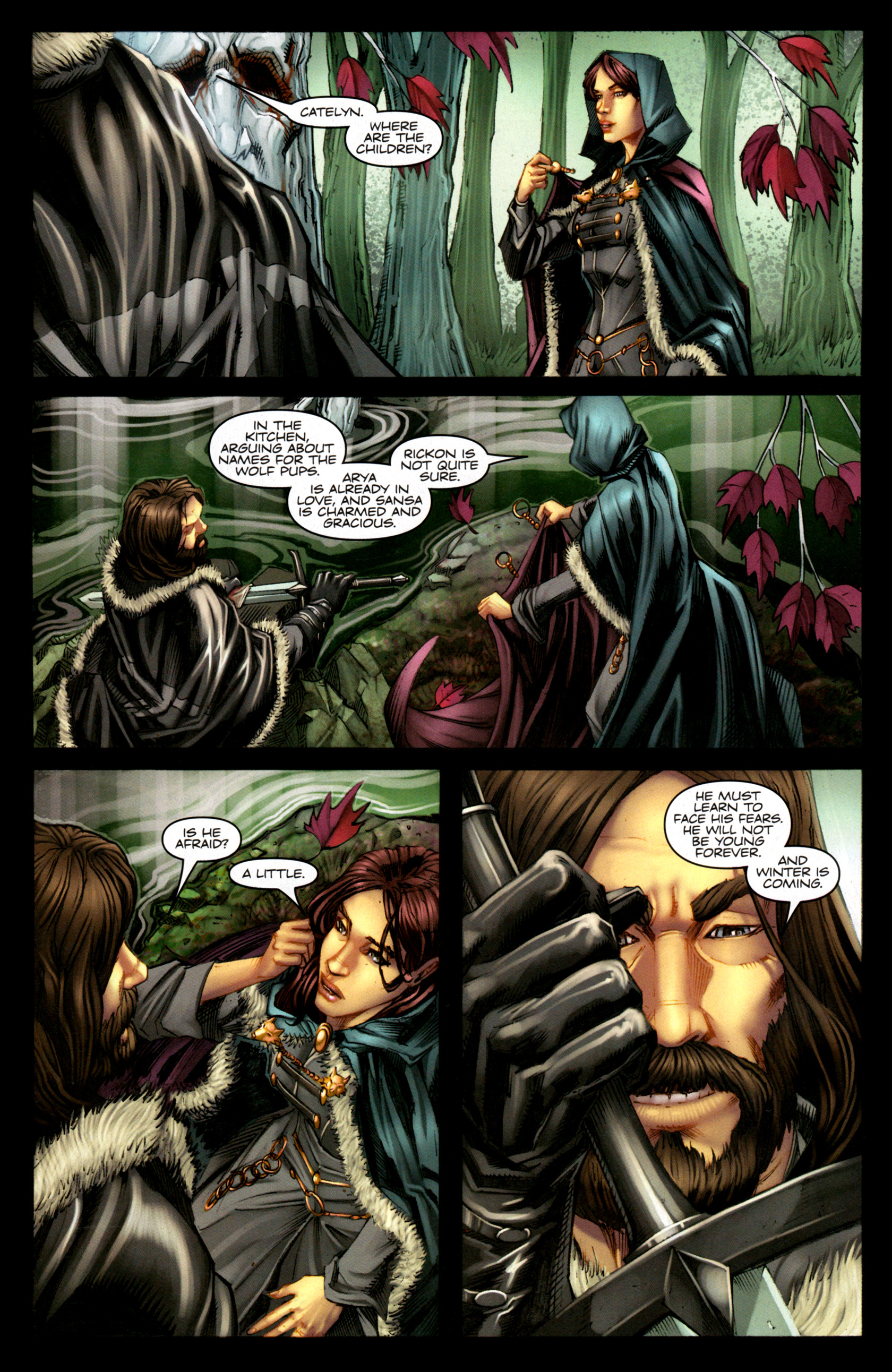 Read online A Game Of Thrones comic -  Issue #1 - 20
