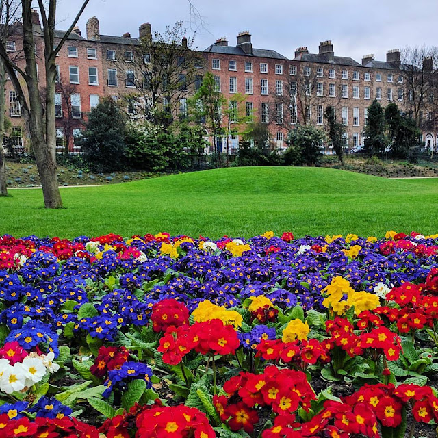 One day in Dublin City: Merrion Square Park in the heart of Georgian Dublin