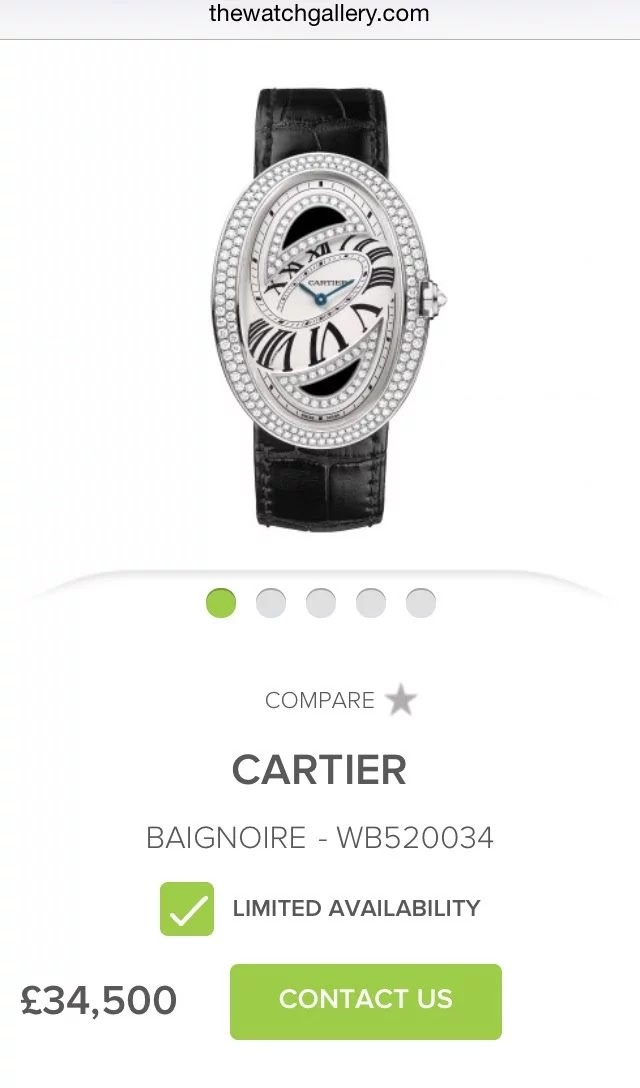 3 times Aisha Buhari has shown off her wealth - Cartier Watch