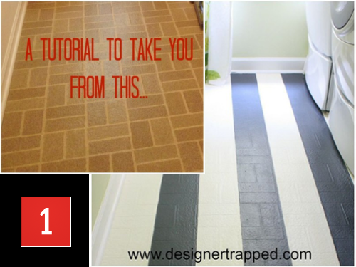 vinyl or linoleum flooring