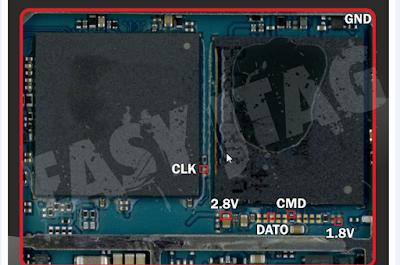 Pinout Isp Samsung J2 Prime (SM-G532G)