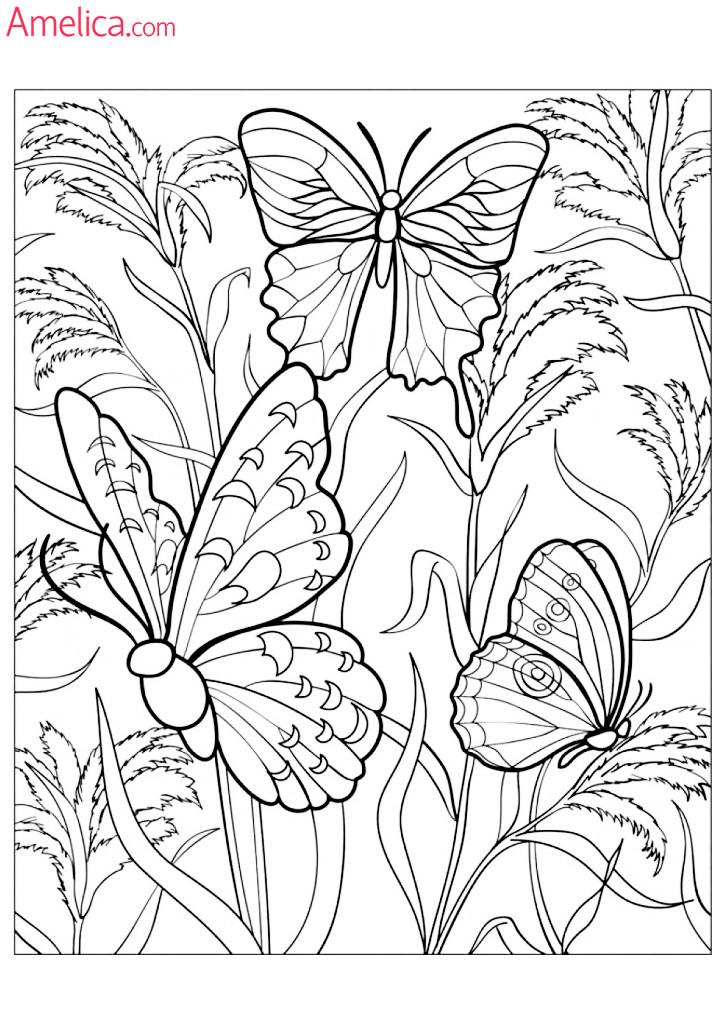 Amelica.com for kids: Картинки — раскраски антистресс для ...