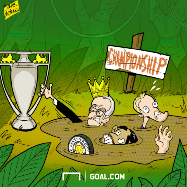 Leicester sink in the quicksand cartoon