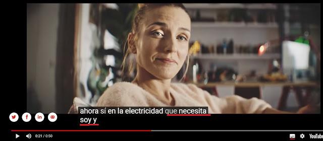 Video promocional de Cepsa con subtitulos automaticos