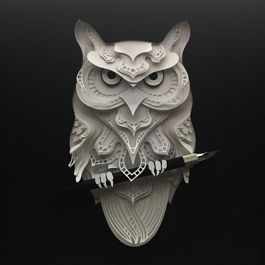 12-Owl-Patrick-Cabral-www-designstack-co