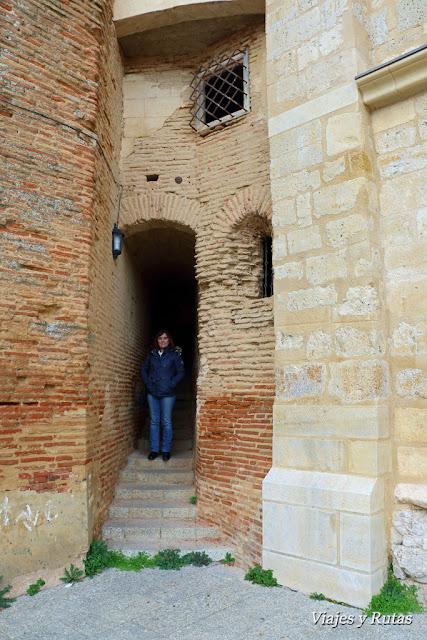Unión del Palacio de los Condes de Grajal con la Iglesia, Grajal de Campos