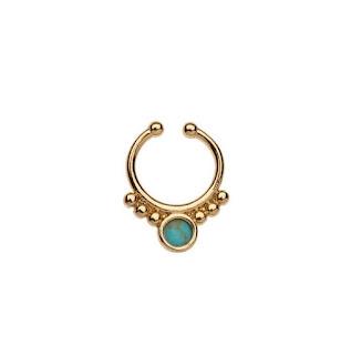 Semi Precious Septum Ring by Orelia Topshop