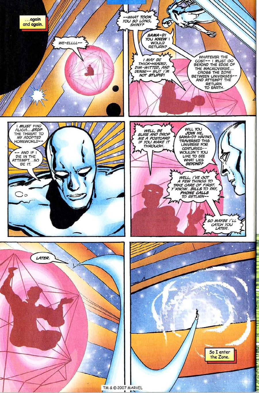 Read online Silver Surfer (1987) comic -  Issue #142 - 28