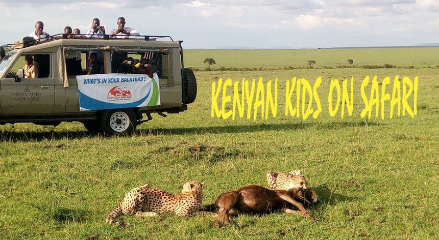 Kenyan Kids On Safari