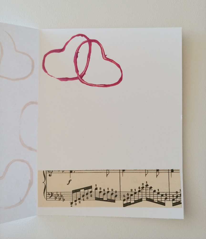 DIY card for V-day