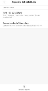 Formatta Android