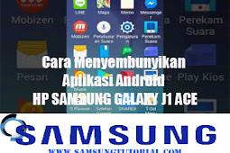 Cara Menyembunyikan Aplikasi Android HP SAMSUNG GALAXY J1 ACE