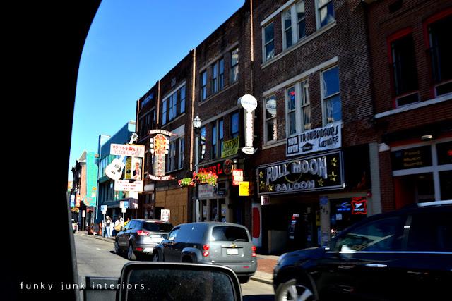 downtown Nashville via Funky Junk Interiors