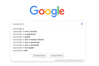 """""""Asexuality Is ...."""" Answering Google Autocomplete Sentences"""