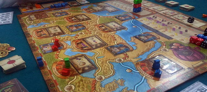 Marco Polo 2 players game