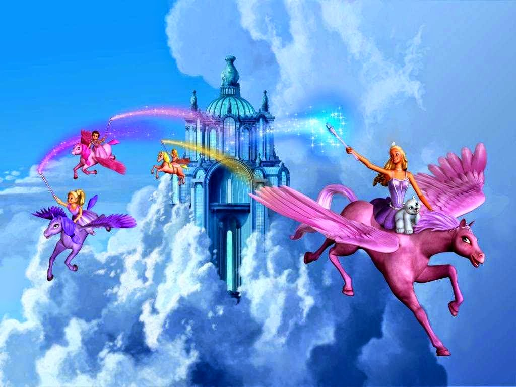 Barbie And The Magic Of Pegasus Wallpaper