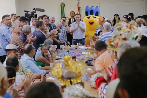 Governo garante mais de meio milhão de reais para as prévias e o Carnaval em Alagoas