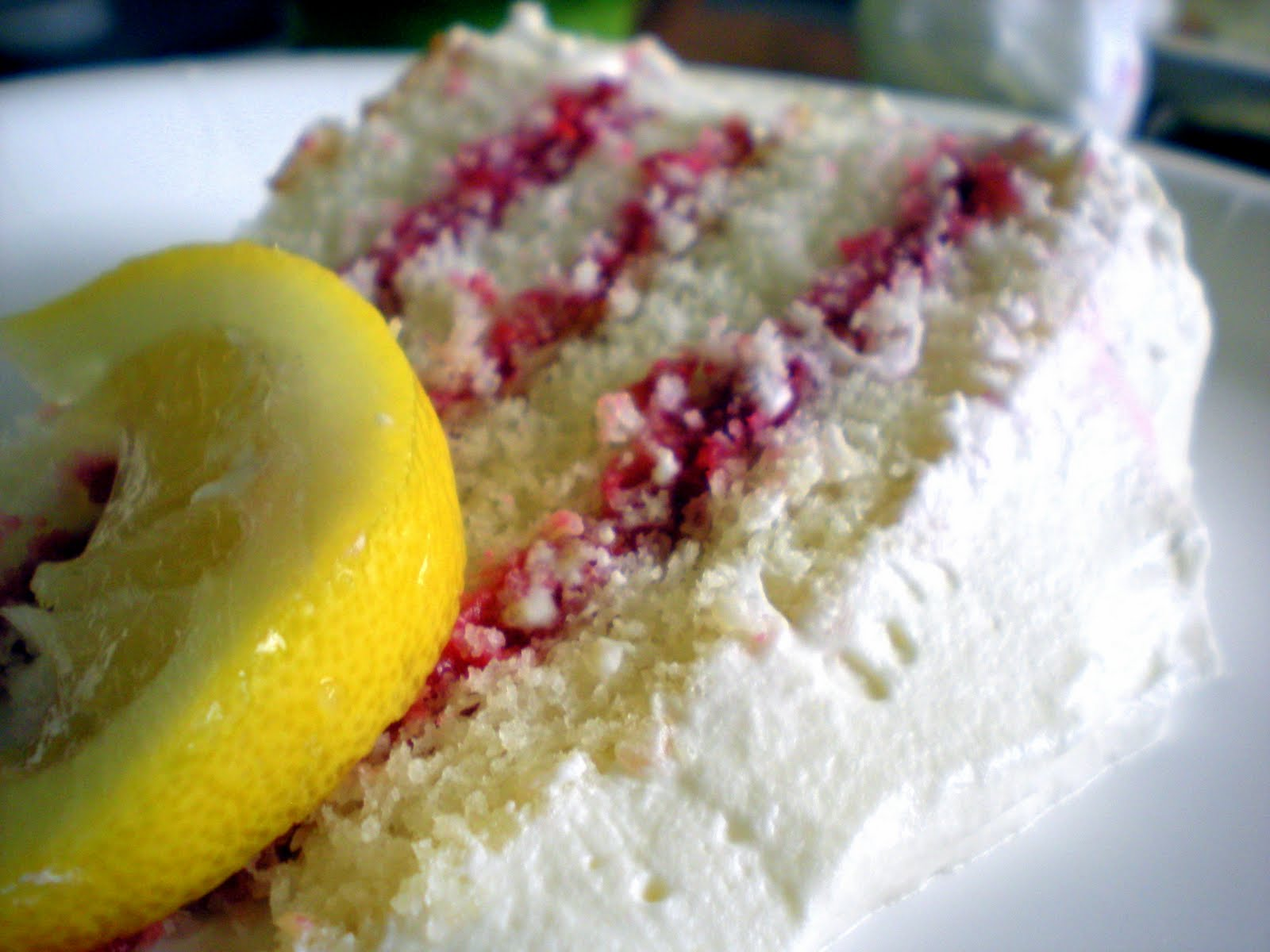 Swavory Stuff: Lemon Raspberry Layer Cake