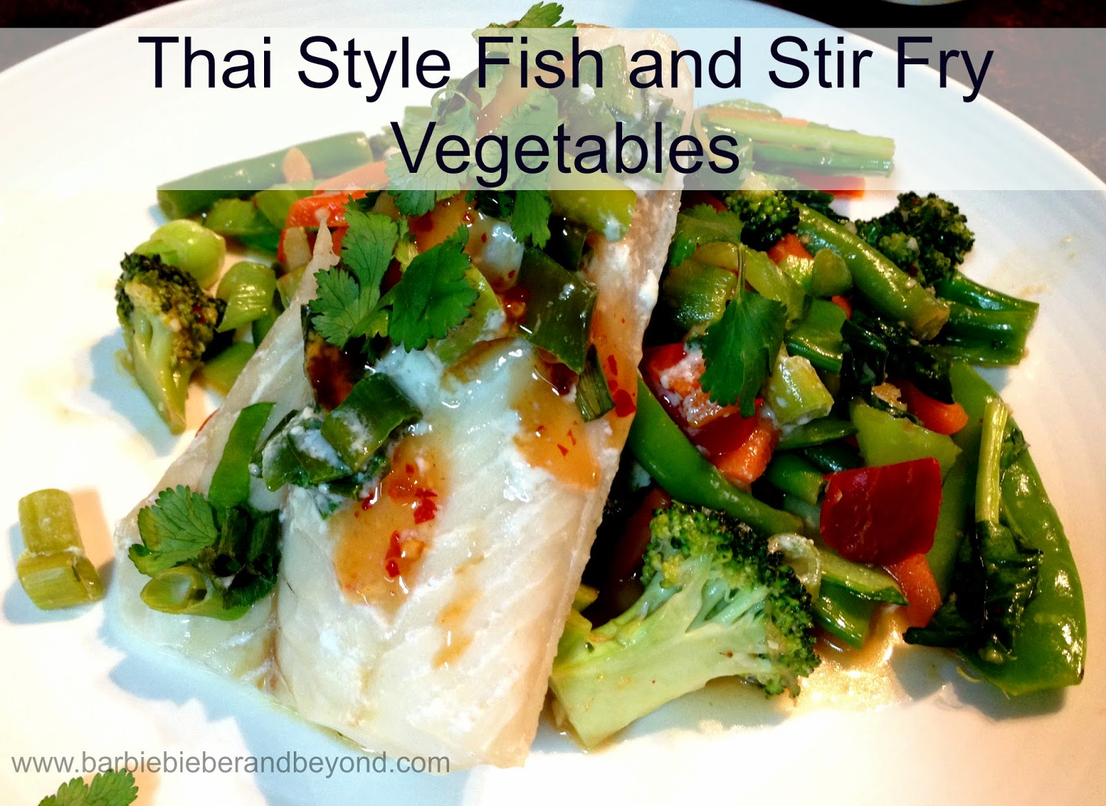 Thai Style Fish Recipe
